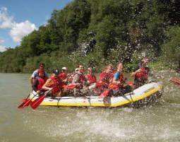 Bild Rafting - Rafting-Tour: Vergnügen im Wildwasser