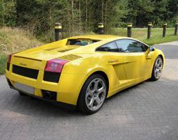 Lamborghini Rundfahrt - Lamborghini Gallardo - Nördlingen Lamborghini Gallardo - 30 Minuten als Co-Pilot