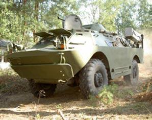 Panzerfahren Radpanzer SPW40 Mahlwinkel Radpanzer SPW40 - 60 Minuten