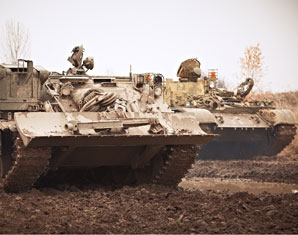 Panzer fahren Milovice