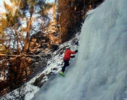 Eisklettern Kiefersfelden Eisklettern - 3-4 Stunden