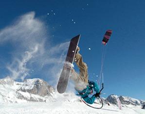 Snowkite Grundkurs   Langlau Grundkurs - ca. 3 Stunden
