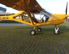 Flugzeug selber fliegen - Ultraleichtflugzeug - 60 Minuten - Schwandorf Ultraleichtflugzeug - 60 Minuten
