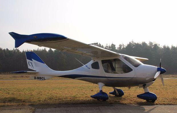 flugzeug-selber-fliegen-bayreuth-flug