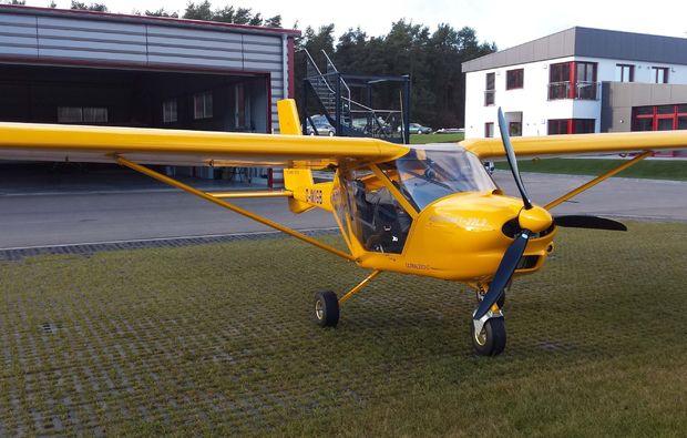 flugzeug-selber-fliegen-bayreuth-maschine