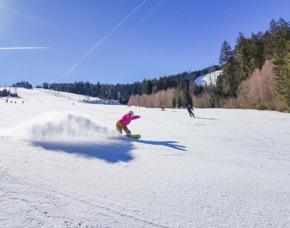 Snowboarden Bischofsmais