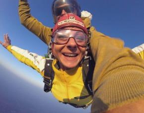 Fallschirm Tandemsprung - Ailertchen Sprung aus ca. 3.000-4.000 Metern - ca. 50 Sekunden freier Fall