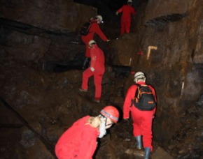 Höhlentrekking 5 Std. - Kamsdorf Besucherbergwerk – 5 Stunden