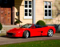 Ferrari selber fahren - Ferrari F355 Spider - 60 Minuten Ferrari F355 Spider - 50 Minuten
