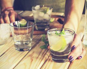Gin-Tasting - Berlin von 12-15 Sorten Gin & 4 Gin & Tonic-Variationen