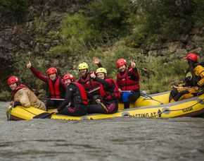 "Rafting Salzach ""sportiv"" - Golling an der Salzach Salzach - 4 Stunden"
