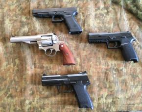 Sportschützentraining Pistole & Revolver - Hammerstetten Sportschützentraining Pistole & Revolver – 2 Stunden