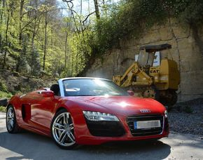 Audi R8 - 60 Minuten - Rottenburg Audi R8 V10 Spyder - 60 Minuten