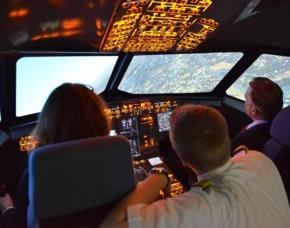 Flugsimulator - A320 - 30 Minuten - Mülheim an der Ruhr Airbus A320 – 45 Minuten