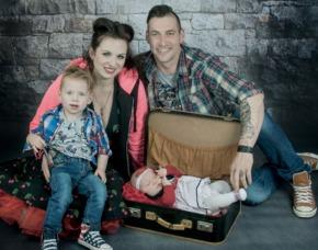 Familien-Fotoshooting Niederwinkling
