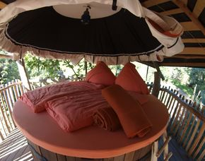 Außergewöhnlich Übernachten - Baumbett - 1 ÜN im Baumbett - Eintritt Freizeitpark