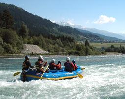e-Vorderrhein-Rafting