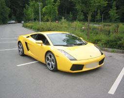 Lamborghini Selber Fahren - Nördlingen Lamborghini Gallardo - 70 Minuten mit Instruktor
