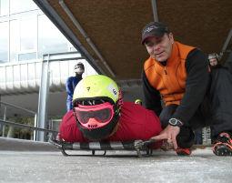 Skeleton fahren Skeleton fahren - Olympia Eiskanal - ca. 2 Stunden