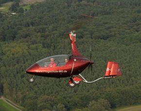 Tragschrauber-Rundflug   Magdeburg 30 Minuten