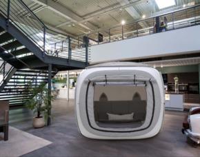 Außergewöhnlich Übernachten im sleeperoo Cube - 1 ÜN (Preis B - Mo-Do) - Bad Homburg im sleeperoo Cube - inklusive Chillbox - im Möbelhaus