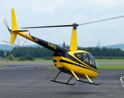 Hubschrauber selber fliegen 30 Minuten
