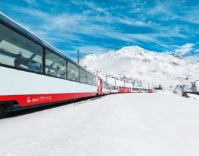 Erlebnisse-Geschenkideen: Bahnreisen St. Moritz