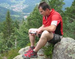 Geocaching-Tour   Gernsbach 4,5 Stunden
