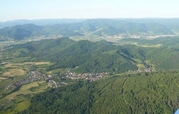 flugzeug-selber-fliegen-freiburg-breisgau-panorama