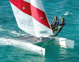Katamaran segeln  Katamaran-Schnupperkurs in Zingst als Geschenkidee | mydays
