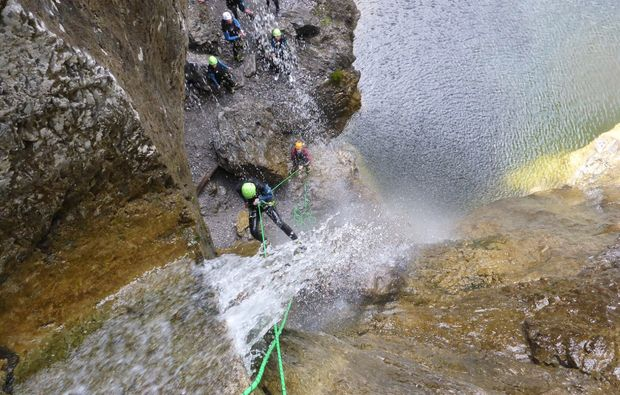 canyoning-tour-reutte-felswand