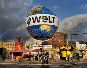 Aufstieg im Weltballon Aufstieg im Weltballon - Berlin von oben