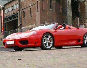 Ferrari F360 Spider selber fahren (60 min) - Memmelsdorf Ferrari F 360 Spider - 60 Minuten