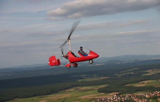 tragschrauber-rundflug-schwandorf-flugspass