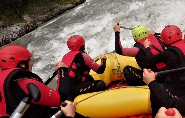 rafting-tour-golling-an-der-salzach-stroemung