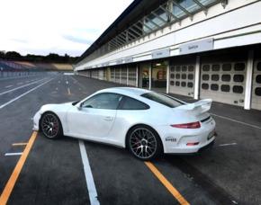 Rennstreckentraining Porsche GT3 Clubsport - Most Porsche GT3 Clubsport - 1 Einführungsrunde, 4 Runden selber fahren - Most