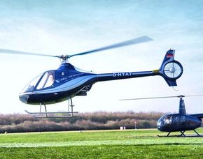 Hubschrauber selber fliegen - 30 Minuten - Guimbal Cabri G2 - Egelsbach in einem 2-sitzigen Hubschrauber - 30 Minuten