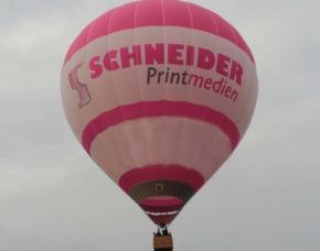 Ballonfahrt MD - Bad Königshofen ca. 60-90 Minuten