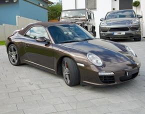 Porsche 911 Tagesmiete - München Porsche 911 S Cabrio – 24 Stunden