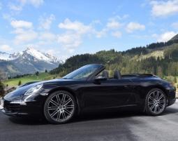 Porsche 911 fahren - 4 Stunden Fahrt über Allgäuer Passstraßen im Porsche 911 Cabrio - 4 Stunden