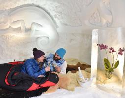 Schweizer Romantik-Iglu für Zwei   Davos-Klosters im 2er-Iglu - Abendessen