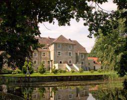 Schlosshotel in Mellenthin Wasserschloss Mellenthin
