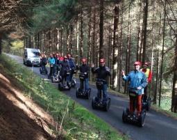 Segway-Adrenalin-Tour - Hinterweidenthal Inkl. Klettern, Abseilen und Bogenschießen - 5 Stunden
