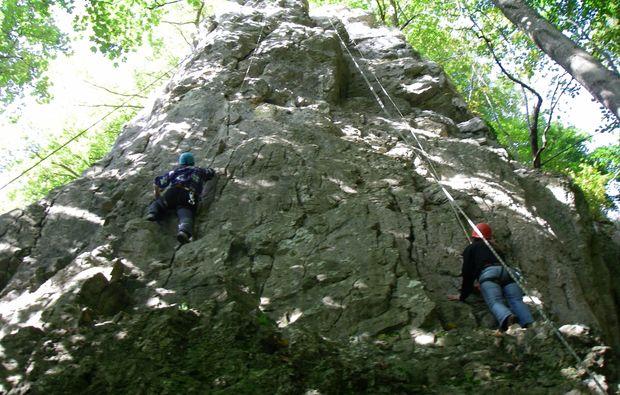 Kletterausrüstung Ulm : Kletterkurs im klettergarten in raum ulm als geschenkidee mydays