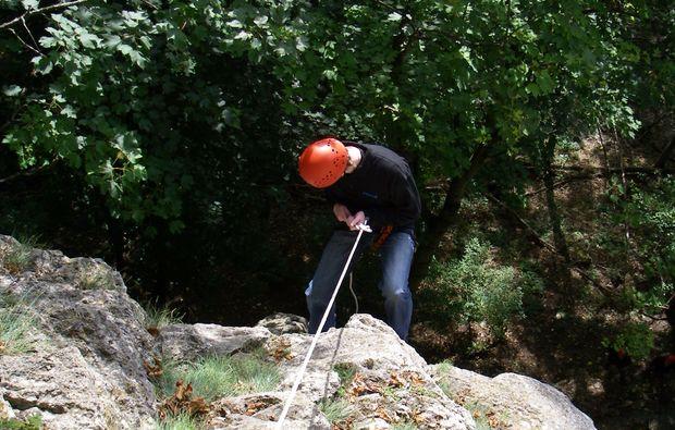 Kletterausrüstung Verleih Dresden : Kletterkurs im klettergarten in raum ulm als geschenkidee mydays