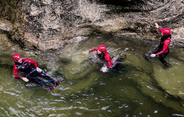 canyoning-tour-schneizlreuth-action