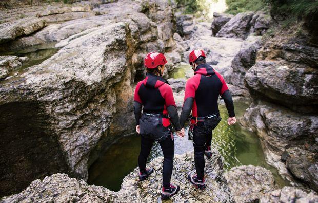 canyoning-tour-schneizlreuth-sprung