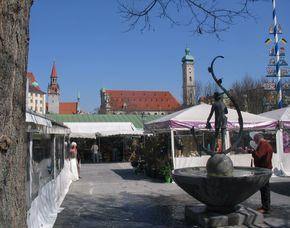 Stadt-Kult(o)ur - kulinarisches München verschiedene kulinarische Spezialitäten