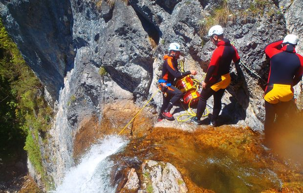 canyoning-tour-schladming-action
