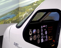 Flight Simulator Piper PA34 - 40 Minuten